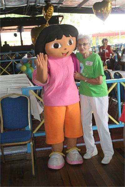 Aunty Olga and Dora